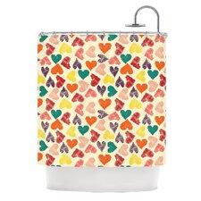 Little Hearts Shower Curtain