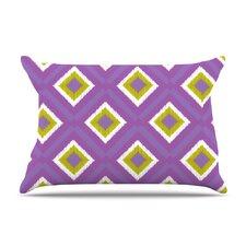 Purple Splash Tile Pillow Case