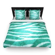 Zebra Print Texture Duvet Cover