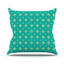 Hive Blooms Throw Pillow