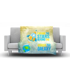 Explore The Stars Throw Blanket