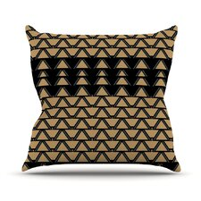 Deco Angles Throw Pillow