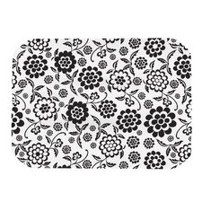 Cherry Floral White Placemat