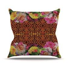 New Rose Eleo Throw Pillow