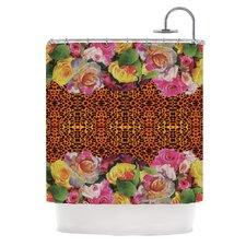 New Rose Eleo Shower Curtain
