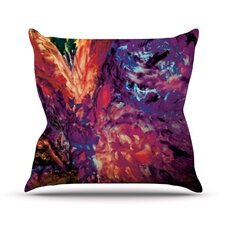 Passion Flowers II Throw Pillow