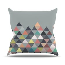 Nordic Combination by Mareike Boehmer Abstract Throw Pillow