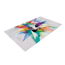 Colorful Rainbow Abstract Area Rug