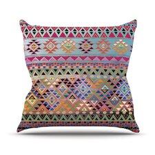 Tribal Native Outdoor Throw Pillow