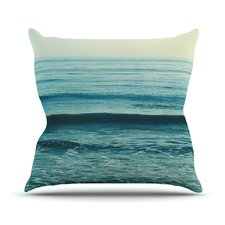 Somewhere by Myan Soffia Throw Pillow