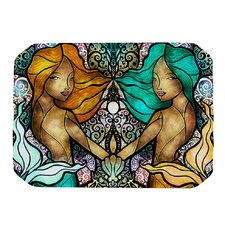 Mermaid Twins Placemat