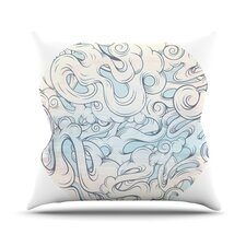 Entangled Souls Outdoor Throw Pillow