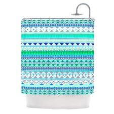 Emerald Chenoa Shower Curtain