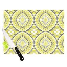 Yellow Tessellation Cutting Board