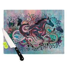 Poetry in Motion Cutting Board