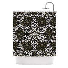 Ethnical Snowflakes Shower Curtain