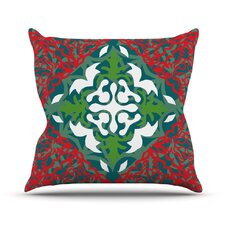 Lace Flakes Throw Pillow