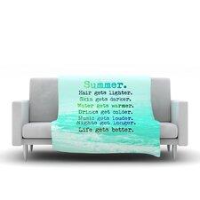 Summer XXL Throw Blanket