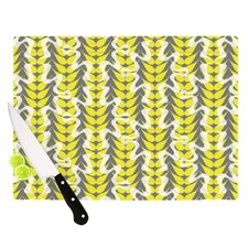 Whirling Leaves Cutting Board