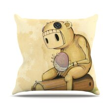 In All the While Outdoor Throw Pillow