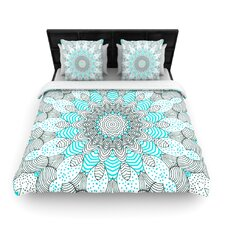 Dots and Stripes by Monika Strigel Featherweight Duvet Cover