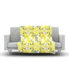 Spring Flourish Throw Blanket