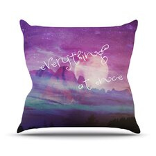 Everything at Once Throw Pillow