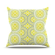 Blossoming Buds Throw Pillow