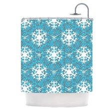 Precious Flakes Shower Curtain