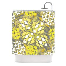 Sandy Signs Shower Curtain