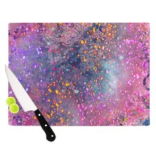 Pink Universe Cutting Board