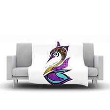Dreams Swan Throw Blanket