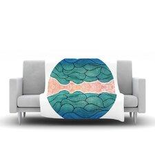 Ocean Flow Throw Blanket