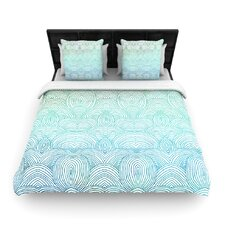 """""""Clouds in the Sky"""" Woven Comforter Duvet Cover"""
