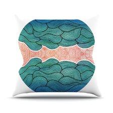 Ocean Flow Throw Pillow