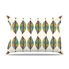 Tribal Leaves Pillow Case