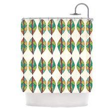 Tribal Leaves Shower Curtain