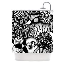 Circles and Life Shower Curtain