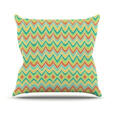 Bright and Bold Throw Pillow