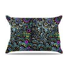 Peacock Tail Pillow Case