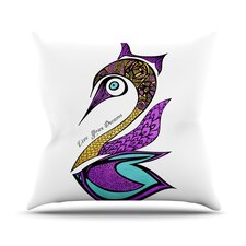 Dreams Swan Throw Pillow