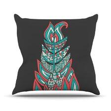 A Romantic Feather Outdoor Throw Pillow