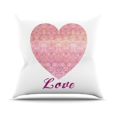 Love by Pom Graphic Throw Pillow