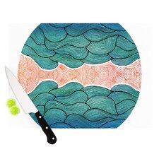 Ocean Flow Cutting Board
