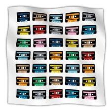 Rainbow Tapes Throw Blanket