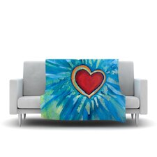 Love Shines On Throw Blanket