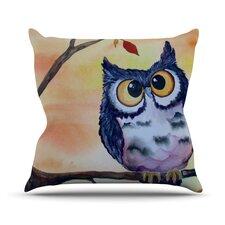 Hootie Cutie Throw Pillow