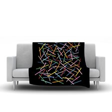 Sprinkles by Project M Fleece Throw Blanket