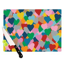 More Hearts Cutting Board