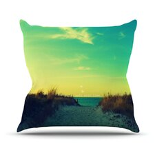 Walk With Love Throw Pillow